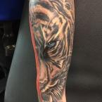 Tattoos Gerhard Schwarz-Grau