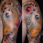 Tattoos Gerhard Farbe