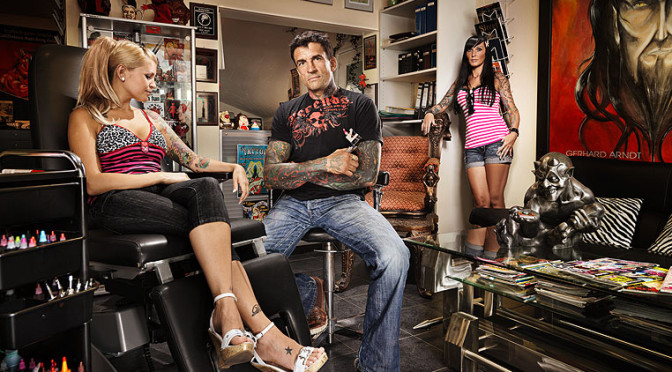 Gerhard Arndt – Tattoo Teuflisches mit der Nadel